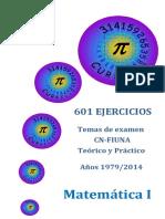 Temas de Anos Anteriores de Matematica Uno
