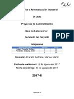 LAB01 Proyectos de Automatizacion