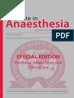 Anestesia pediatrica 2015