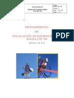 SIG.ica_SE_P.19 Instalación de Equipos LTE B700 Entel