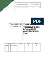PRO CON 031 LPSVK Microcemento en Pisos