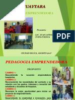 PEDAGOGIA EMPRENDEDORA