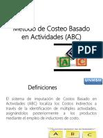 02 Método de Costeo Basado en Actividades (ABC)