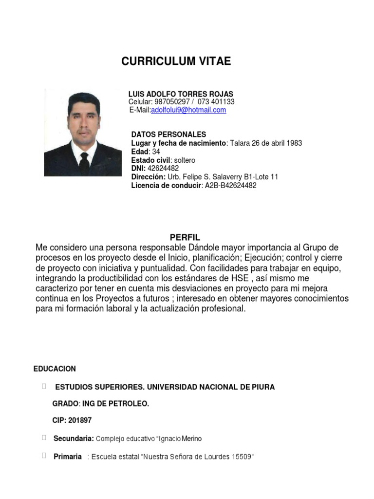 Vistoso Currículum Vitae Para Graduados De Secundaria Cresta ...