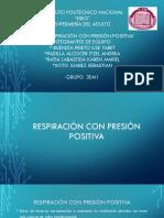 Respiracion Con Presion Positiva