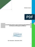 Lineamientos Atencion Prehospitalaria Sistema Emergencias Medicas v2