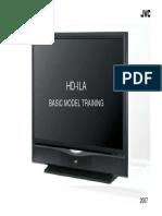 JVC - TV LCD  HD-ILA basic model training 2007.pdf