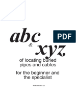 ABC XYZ of Locating Buried Pipes Cables