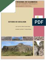 Memoria Descriptiva Geologia Cajamarca