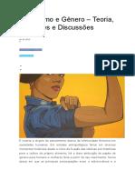 5.2 Feminismo e Gênero