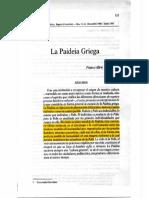 Vergara, Franco Alirio - La Paideia Griega (1)