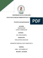 Proyecto Simulacion Segundo Parcial Analisis Razones