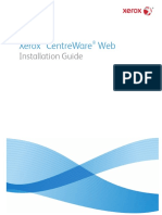 CentreWareWeb CWW 5.8 InstallationGuide