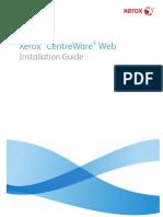 CentreWareWeb CWW 5.8 InstallationGuide