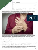 -Pengertian Rheumatoid Arthritis