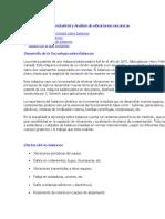 Balanceo Dinámico Industrial y Análisis de Vibraciones Mecánicas