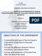 Fluid Mechanics (experiment)