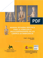 MANUAL de BUENAS PRACTICAS Atencion a Drogodependientes en Emergencias
