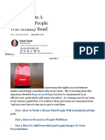 How to Write a Memo That People Will Actually Read - Forbes