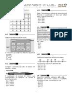 1ª P.D - 2013 - (Mat. 3º Ano - Mat)- (Blog do Prof. Warles).doc