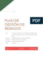 Franklin - Plan de Gestión de Residuos