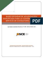III Bases Estandar as Consultoria de Obras
