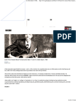 Learn Five Classic Blues guitar Turnarounds