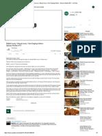 Rabbit Curry _ Muyal Curry _ Kari Daging Kelinci - Spicey Kitchen #17 - YouTube