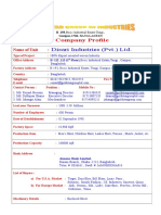 Factory Profile for Disari Indu (Pvt.) Ltd..doc