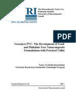Green(Er) PVC Final Report