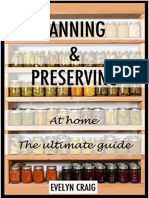 Canning and Preserving at Home the Ultimate Beginners Guide