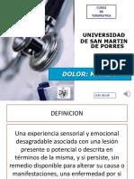 Dolor -Manejo