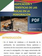 Clasificación y Características de Las Rocas en La