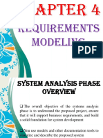 Chapter 4 - Requirement Modeling (CS31)