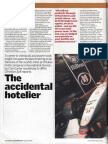 Caterer & Hotelkeeper - The Accidental Hotelier