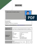 Chinna - Resume Ph