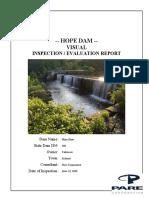 Hope Dam Inspection Report- Dam -160-Hope Dam-6!23!16