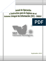 Manual de Operación SII-DGEST Sep. 2013 Okey