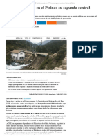 El Estado Rescata en El Pirineo Su Segunda Central Eléctrica