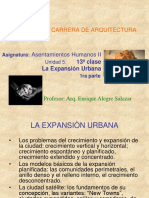 La Expansion Urbana 1a Parte