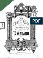 D. Aguado - 25 peças de seu método.pdf