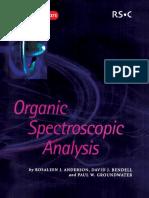 12633260 Organic Spectroscopic Analysis