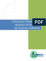 Catalogo Productos Manejo Integrado de Plagas Urbanas 3pp