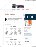 Welding Positions _ Welding Answers