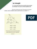 Geometrie - Cls Vi Semestrul II Teoreme