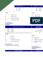 RT Formulae