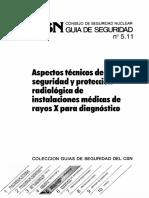 GSG-05.11 Aspectos tecnicos de seguridad y proteccion radiologica de instalaciones medicas de rayos X para diagnostico OCR.pdf