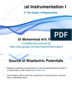 Lecure-5 The Origin of Biopotentials_2.ppt