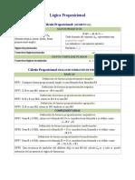 Cálculo Proposicional (Lo)