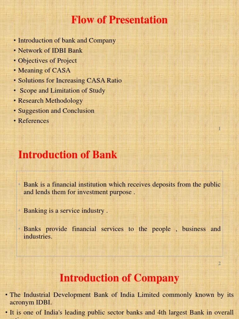 CASA Centric Strategy | Transaction Account | Banks